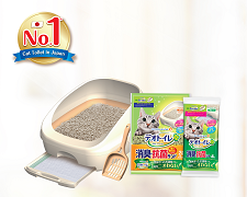 Deo-Toilet Cat Dual Layer Litter System (Half)