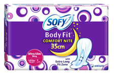 Sofy Body Fit Comfort Nite Ultra Slim 35cm