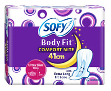 Sofy Body Fit Comfort Nite Ultra Slim 41cm
